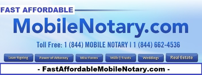 Affordable Mobile Notary Public St Petersburg, Gulfport FL